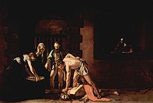 The Beheading of Saint John, by Caravaggio.