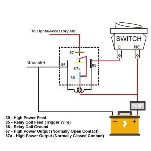 Automotive Relay Socket with 5 Pin Relay Harness | MGI