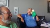 """John Faris explaining """"The Tournament Sheep"""""""