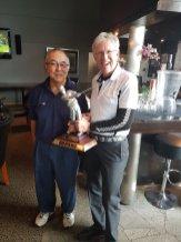 Spring 2 Ball Winners Ken Nishi and Kim Fordyce