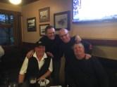 Jon, Lineker, Thompson, Scott Forshner- post golf/ pre-dinner
