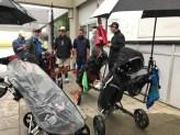 A wet start to the Summer Open