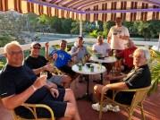Pre-dinner drinks at Habanos