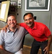 2019 Summer Open winners, Kris Yardley and Minto Roy