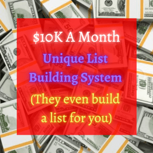 Get Your List Built For You! Click Here!