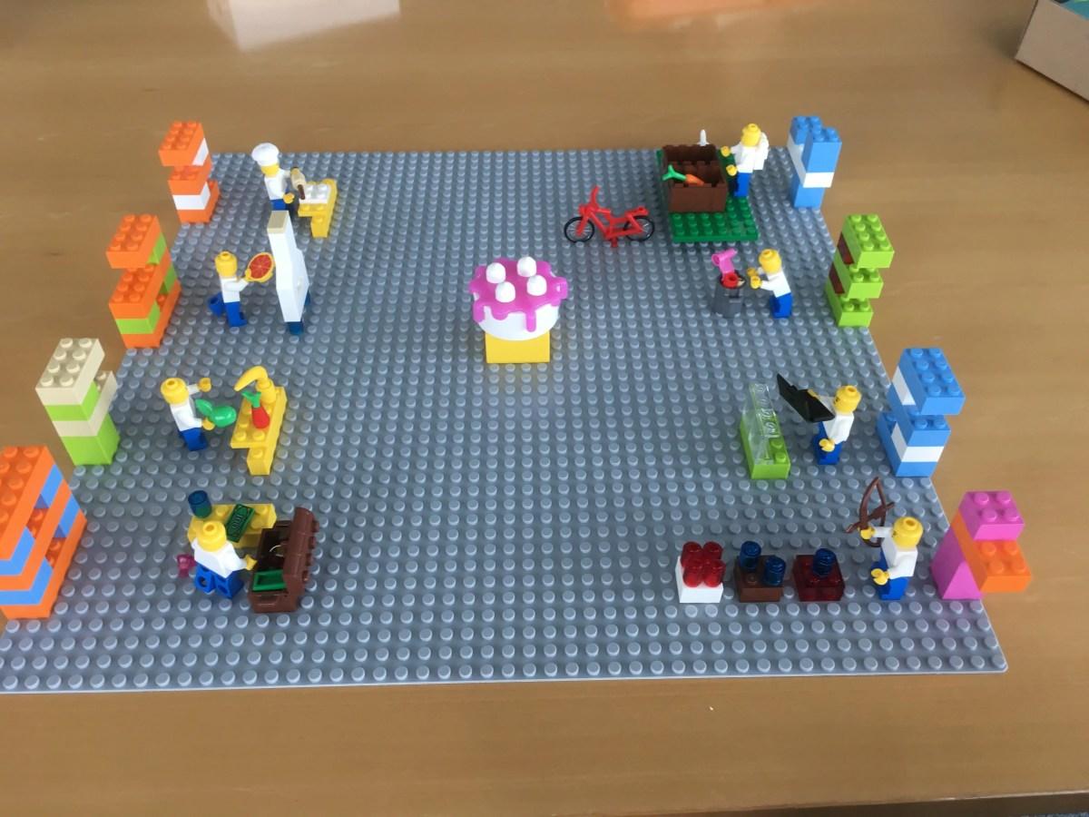 Kreativität erleben mit LEGO® SERIOUS PLAY®