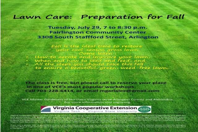 Lawn Care Flier July 2014
