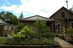 Visitor Center & entrance garden
