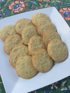 Lemon Fennel Cookies
