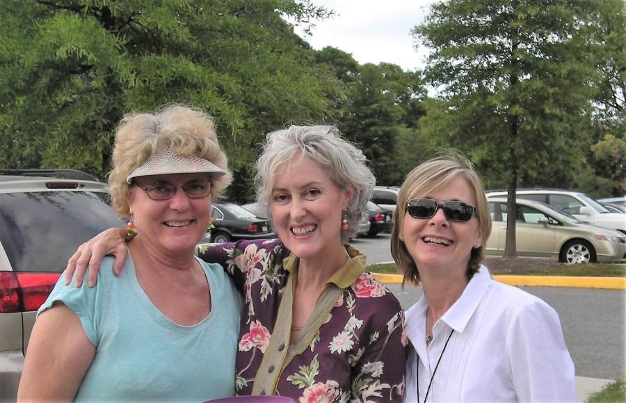 Master Gardeners Paula Kaufmann, Jane Longan and Denise Dieter