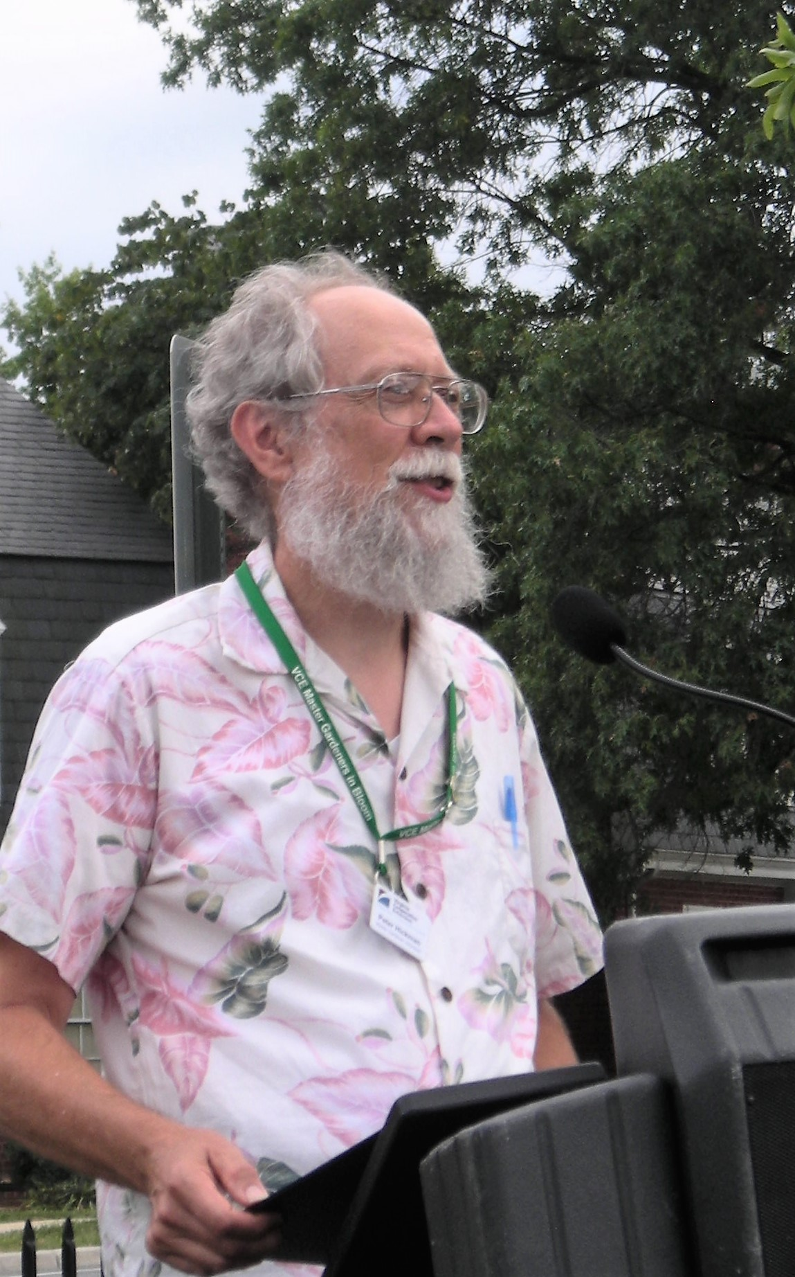 Peter Hickman, MGNV President