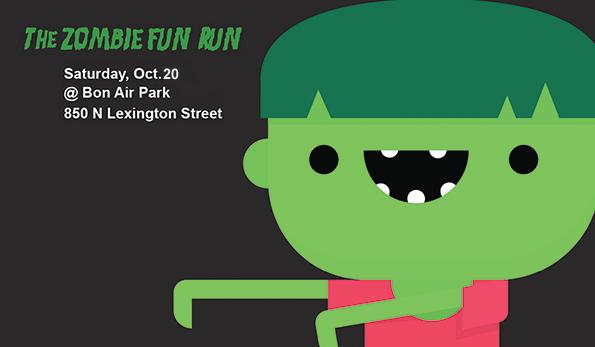 Zombie Fun run logo