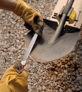 Winter tool Care - sharpening.