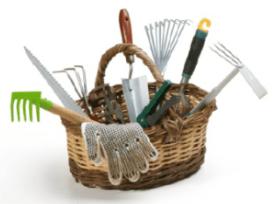 gardening basket
