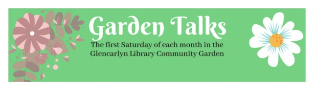 Garden Talks - First Saturday of the month - June - September