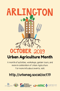 October 2019 Urban Agriculture Month Flyer