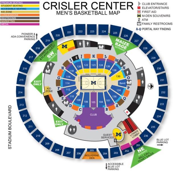 Honda Dealers Seattle >> U Of M Basketball Stadium Seating Chart | Brokeasshome.com