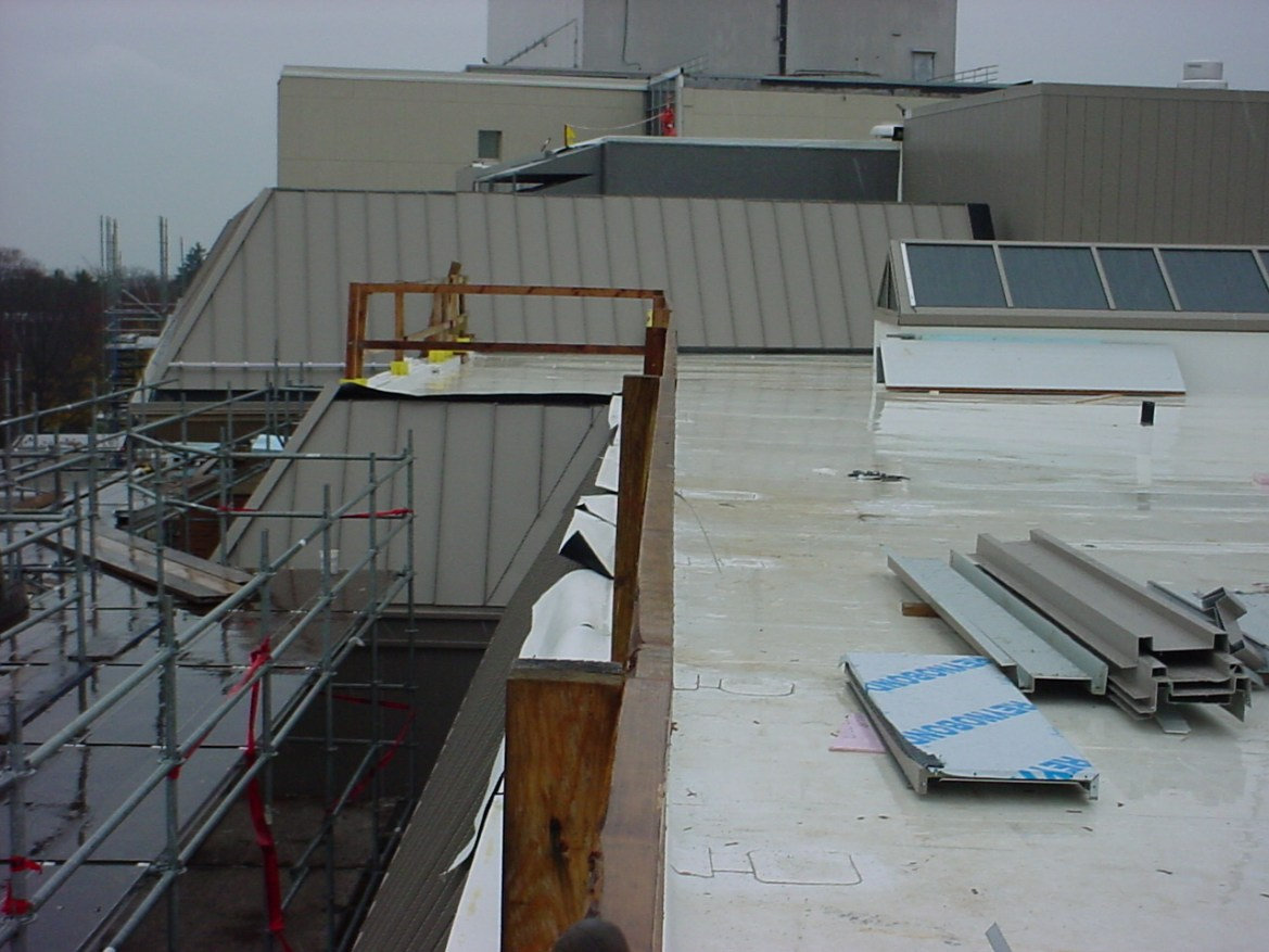 TPO roof at Greenwich Hospital, Greenwich, CT