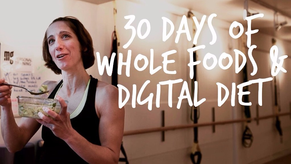 30 day challenge - whole foods