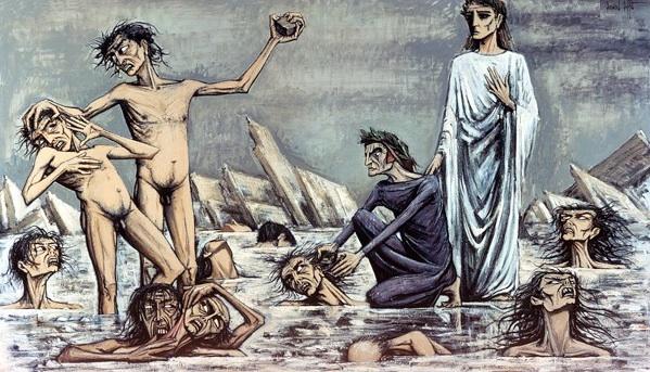 L'enfer de Dante : Damnes pris dans les glaces - 1976