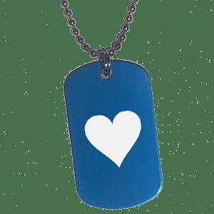 Placa Azul Corazón