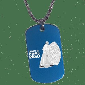 Placa Papa Francisco