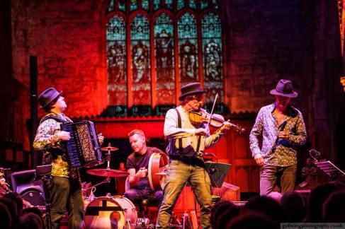 British Accordionist Murray Grainger with The Dodo Street Band