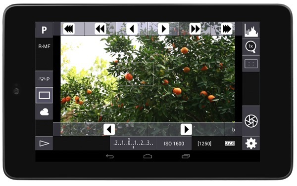 DSLR Controller on Nexus 7