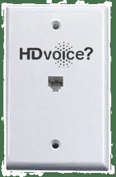 HDVoice RJ-11 Wall Plate