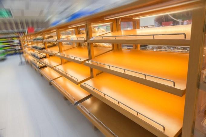 Empty marijuana shelves Massachusetts