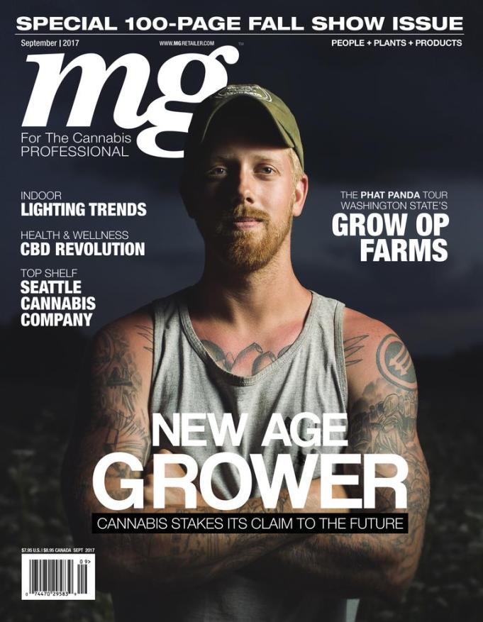 September 2017, mg Magazine Cover