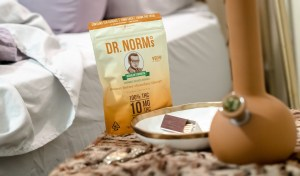 Dr Norms peanut butter cookies edibles and bong