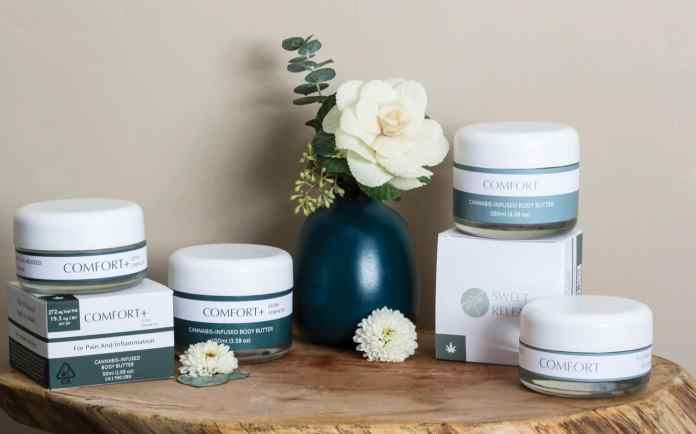 sweet releave various body butters