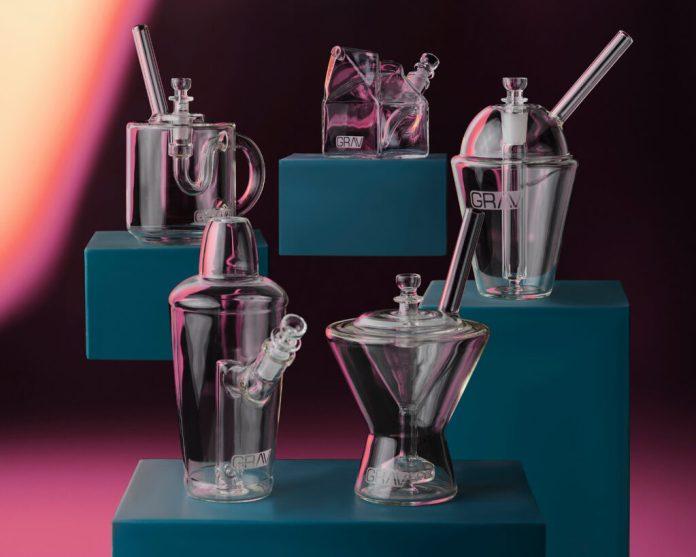 GRAV sip series cannabis glassware mg Magazine
