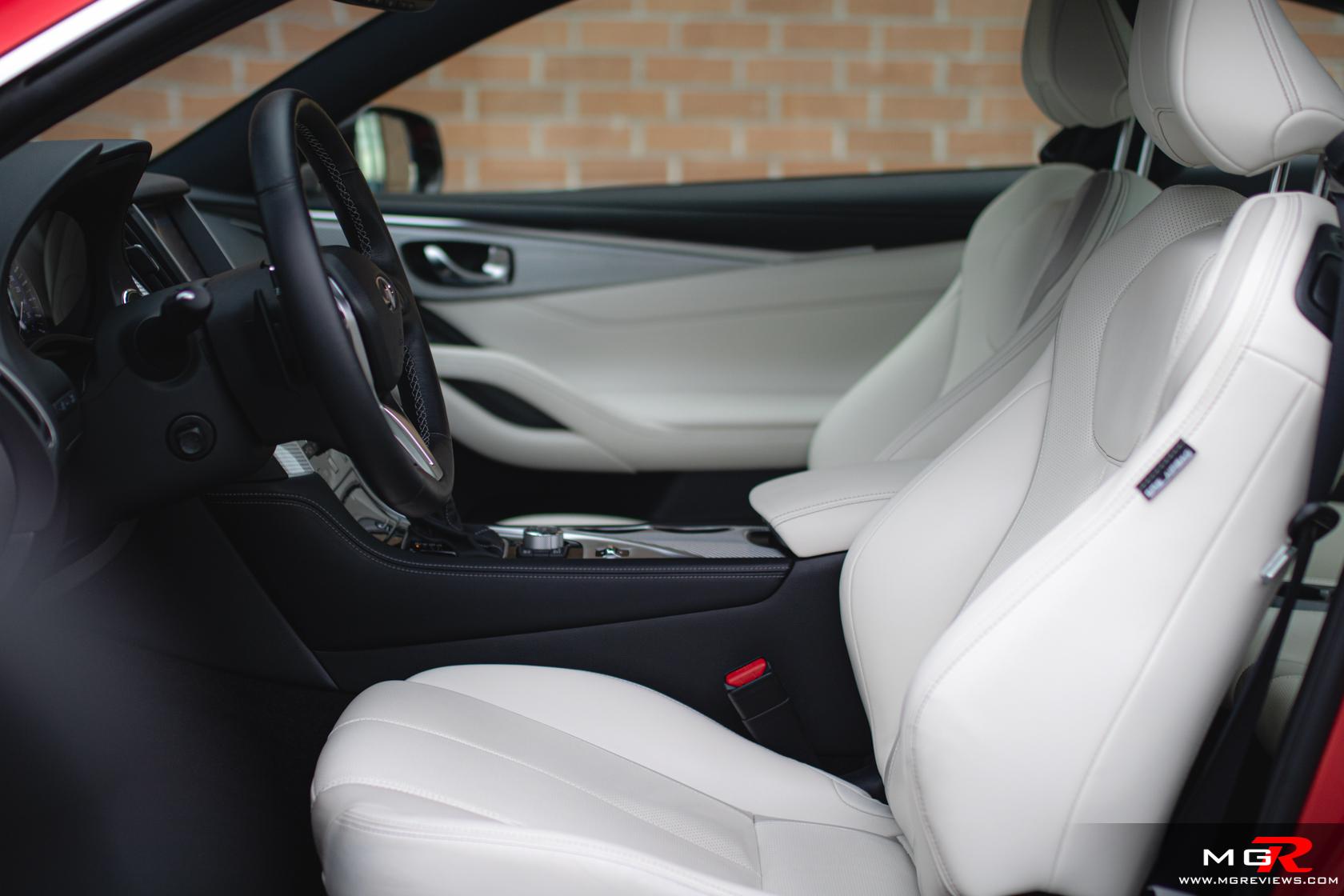 2019 Infiniti Q60 I-Line Red Sport 400