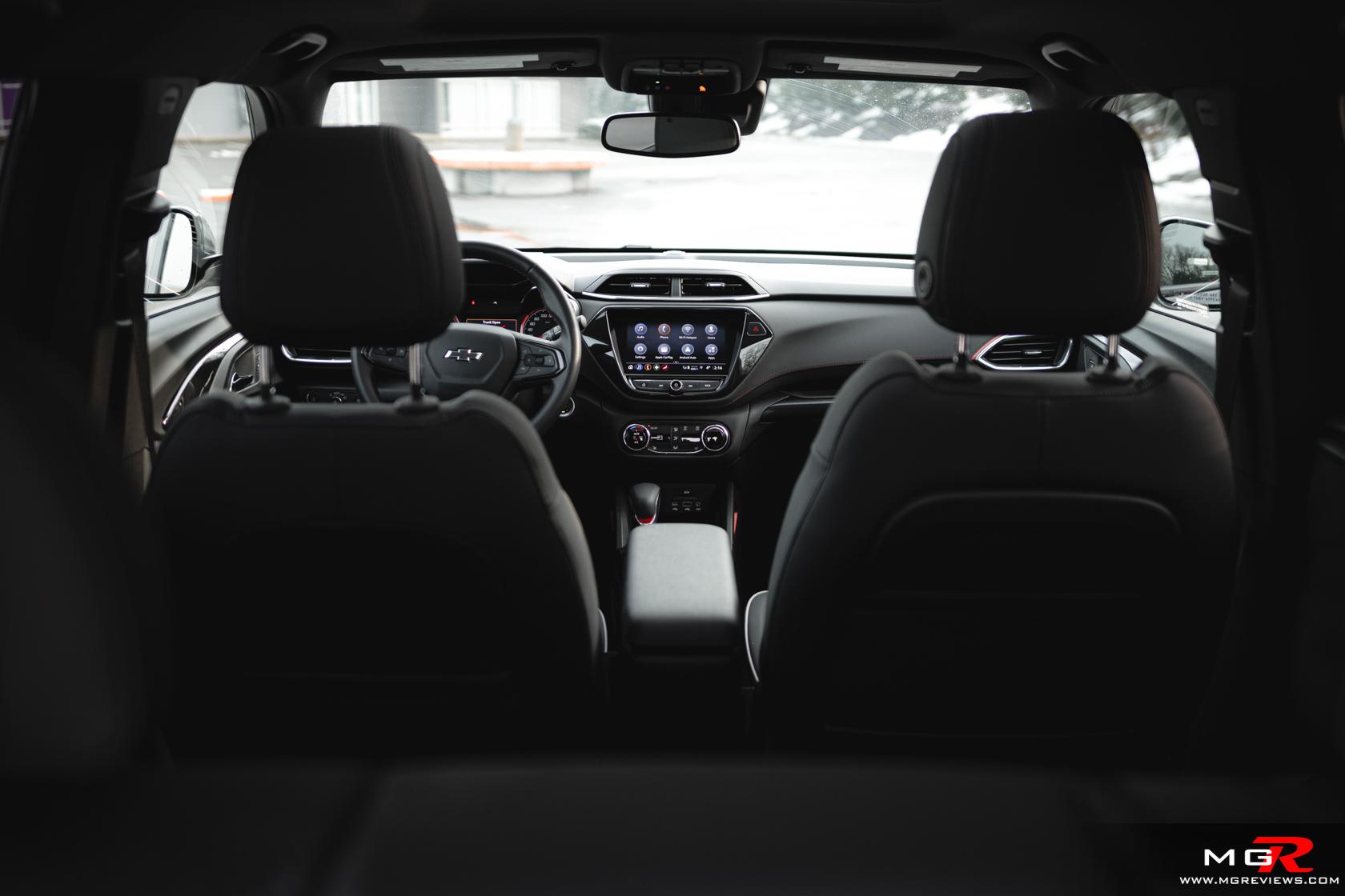 2021 Chevrolet Trailblazer RS Interior