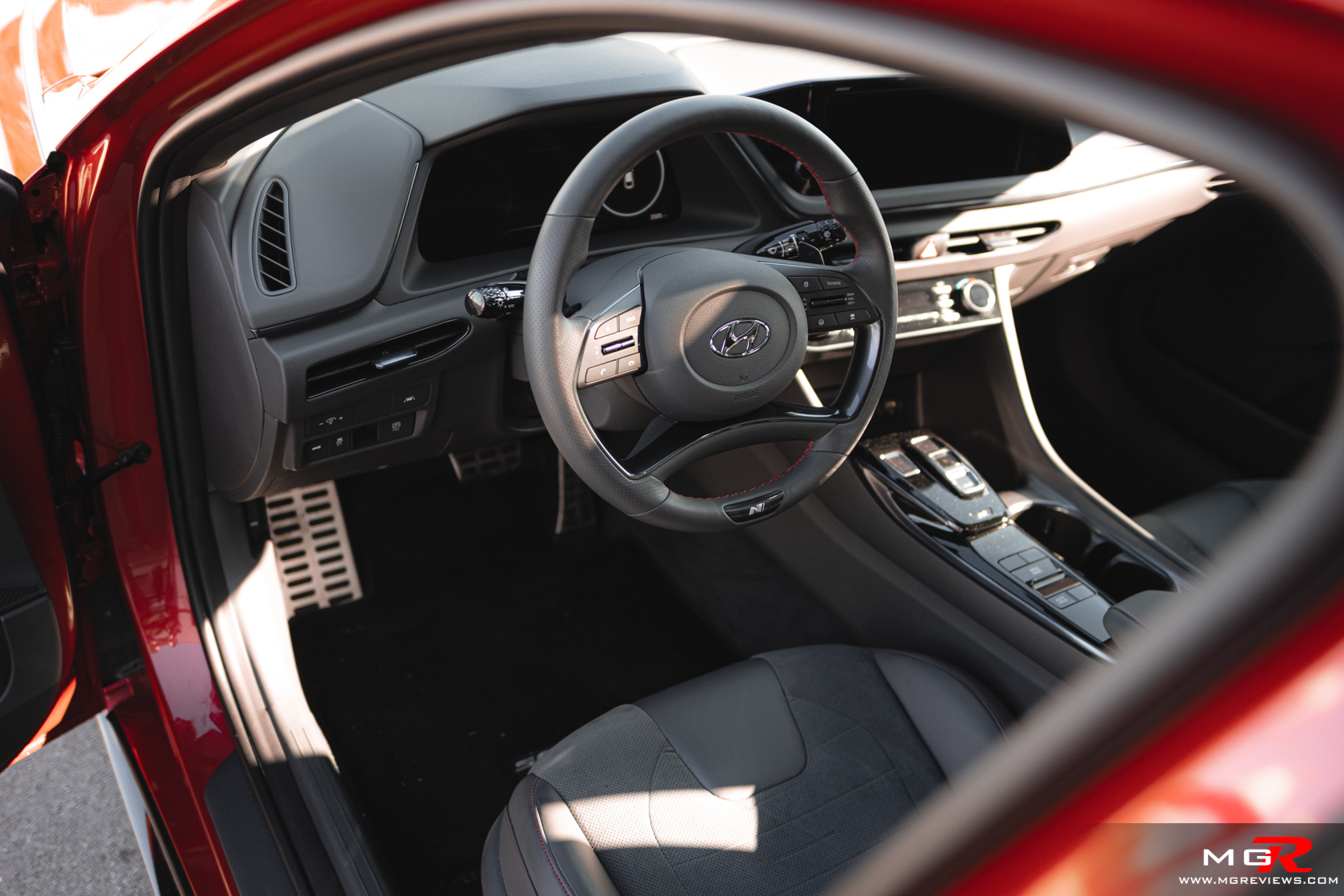2021 Hyundai Sonata N-Line Interior