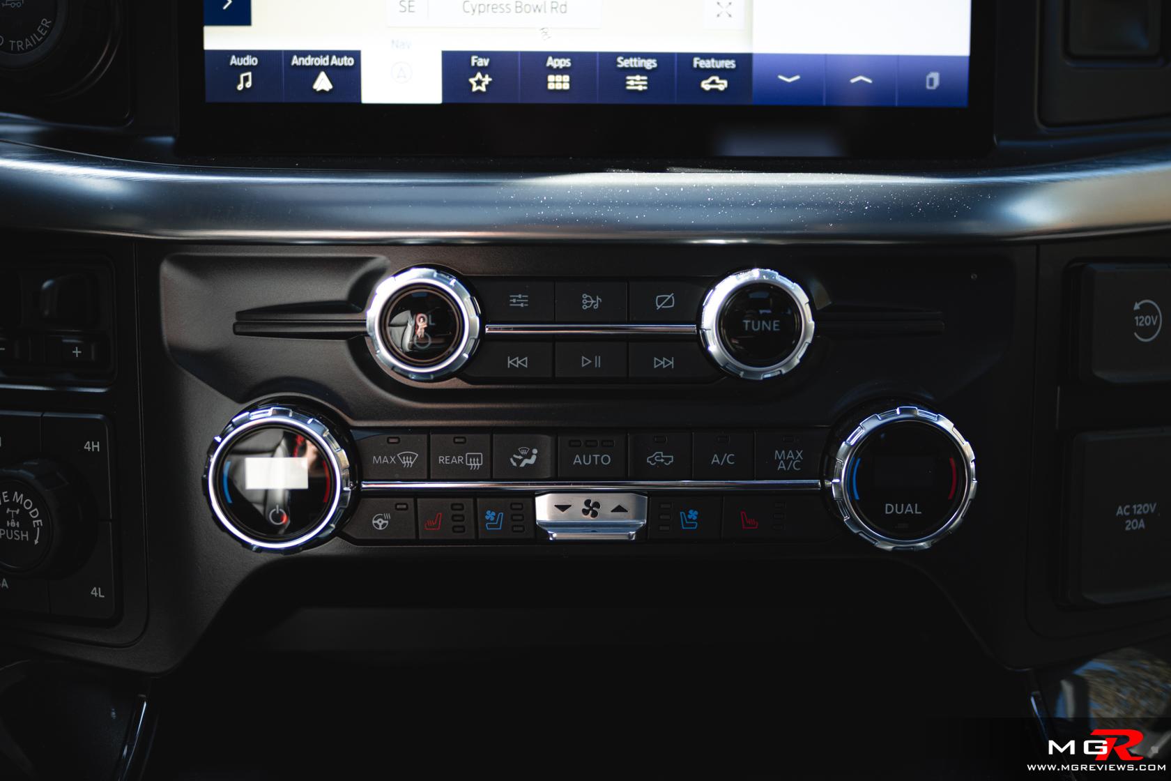 2021 Ford F-150 PowerBoost Hybrid Interior