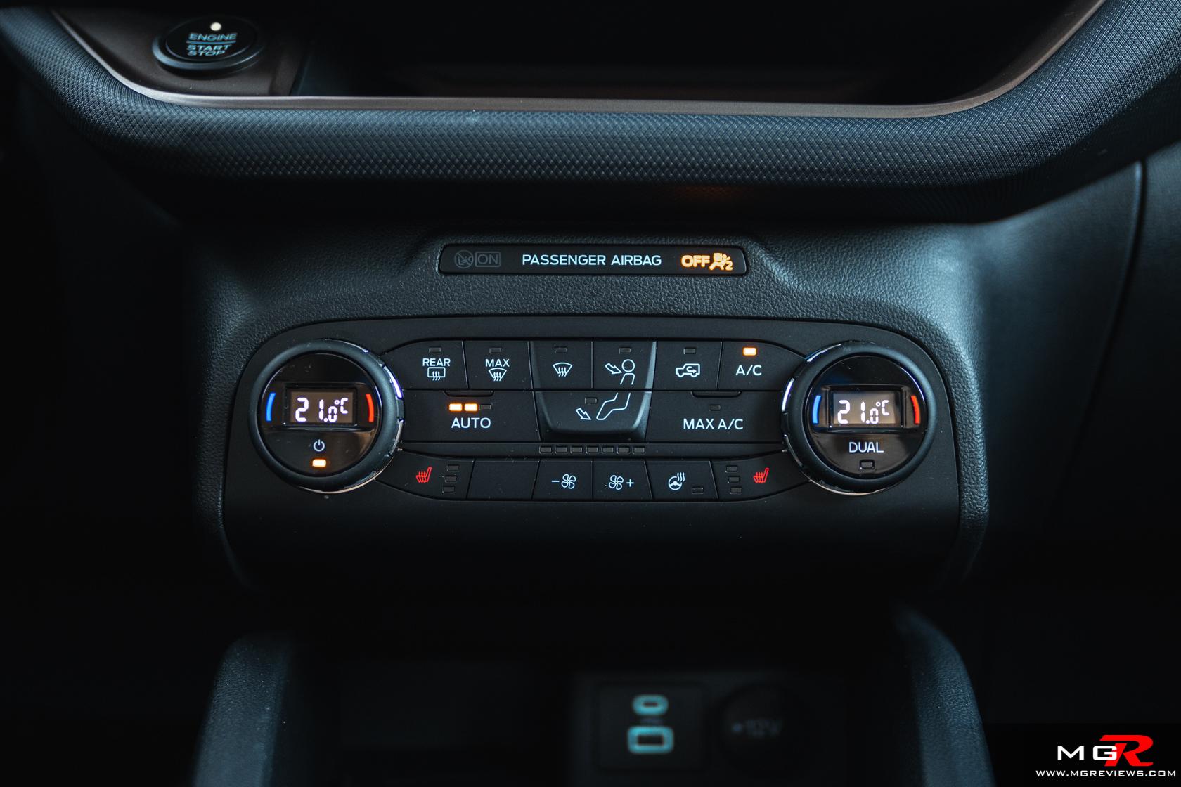 2021 Ford Bronco Sport Interior