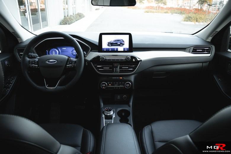 2021 Ford Escape Hybrid Interior