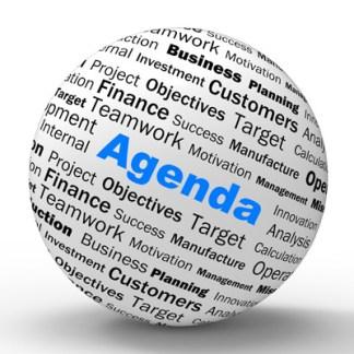 Annotated Agendas