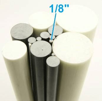 "1/8"" OD Round Solid Rod"