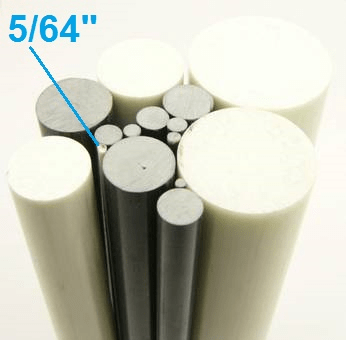 "5/64"" OD Round Solid Rod"
