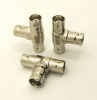 BNC-female / BNC-female / BNC-female Adapter, Tee (P/N: 7080-T)