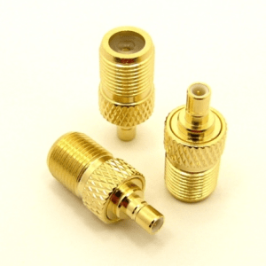 F-female / SMB-female Adapter (P/N: 7241)