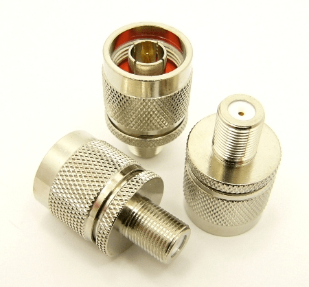 N-male / F-female Adapter (P/N: 7325)