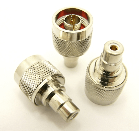 N-male / RCA-female Adapter (P/N: 7326)