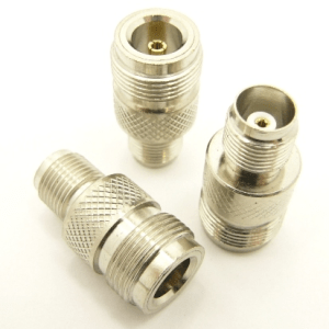 N-female / TNC-female Adapter (P/N: 7334)
