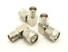 TNC-male / TNC-female Adapter, Right Angle (P/N: 7432-RA)