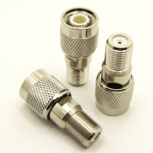 F-female / TNC-male Adapter (P/N: 7439)